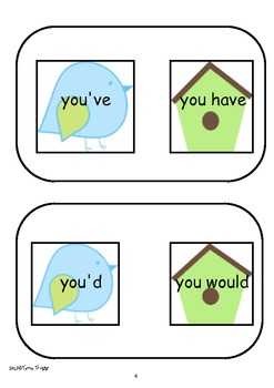 Contraction Matching
