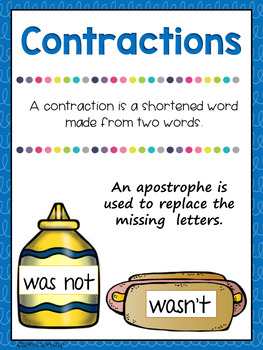 Contraction Activities Bundle