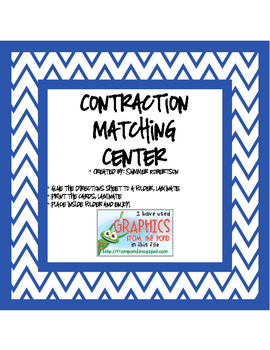 Contraction Matching Center