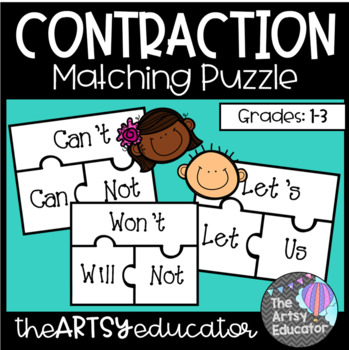 Contraction Match Puzzle Game
