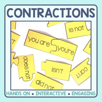 Contraction Matching Puzzles