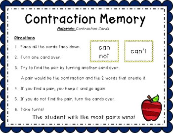 Contraction Memory