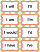 Contraction Memory Game -- Center Activity