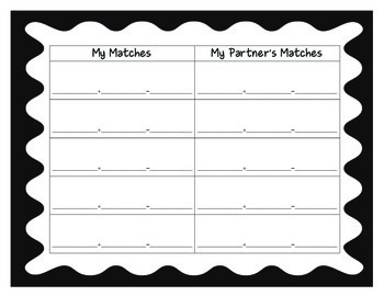 Contraction Memory Match