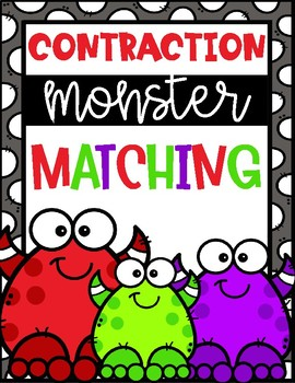 Contraction Monster Matching