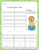 Contraction Pairs - Cut, Match, and Paste - 3 Pack