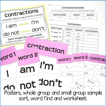 Contractions {Freebie}