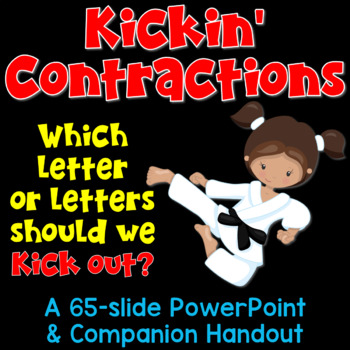 contractions powerpoint by deb hanson teachers pay teachers