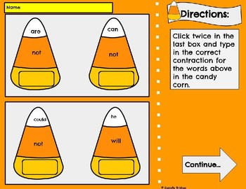 Contraction Practice: Digital and Printable Versions