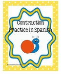 Contraction Practice in Spanish
