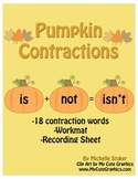 Contraction Pumpkin Activity - Perfect for Fall!