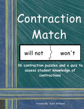 Contraction Puzzle Match