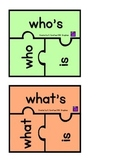 Contraction Puzzle Pieces