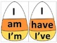 Candy Corn Contraction Puzzles