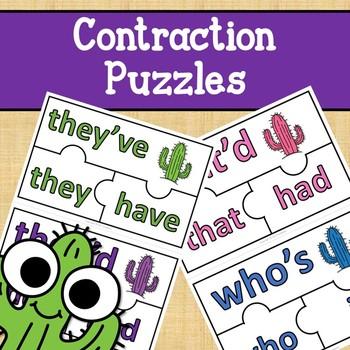 Contraction Puzzles - Cactus