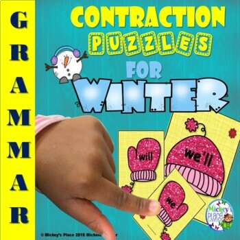 Contraction Puzzles and Assessments for Winter