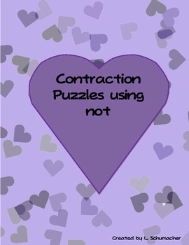 Contraction Puzzles with Not