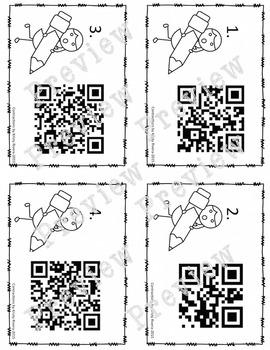 Contraction QR Codes