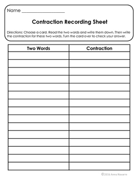 Contraction Read, Fold and Write