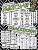 Contractions Games --- Scoot, Bingo, Posters & More  {am,