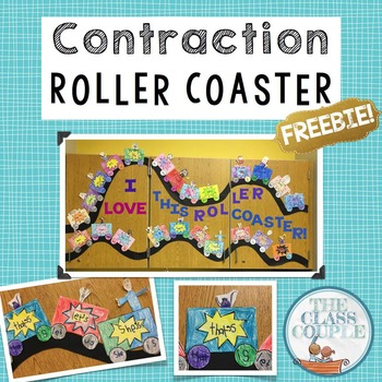 Contraction Roller Coaster FREEBIE