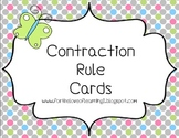 Contraction Rule Cards