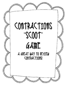 "Contraction ""Scoot"" Game"