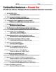 Contraction Sentences