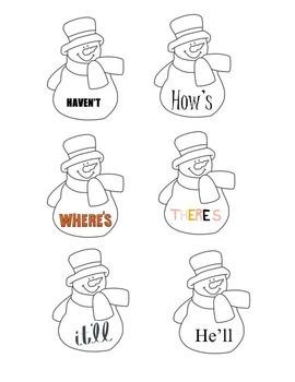 Contraction Snowman