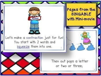 Contraction Song! Let's Make Contractions