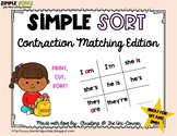 Contraction Sorting Cards
