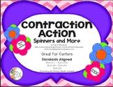 Contraction Action Spelling Centers ELA-L.1.1, L.2.2c, L.3.6, L.4.3, L.5.3