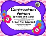 Contraction Action Spelling Centers ELA-L.1.1, L.2.2c, L.3