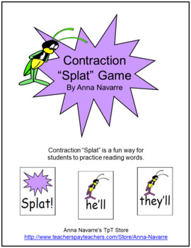 "Contraction ""Splat"" Game"