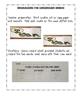 Contraction Surgeon & Contraction Snakes