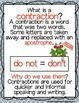 Contraction Surgery - A Differentiated Contractions Unit Packet