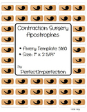Contraction Surgery Band Aid Labels!