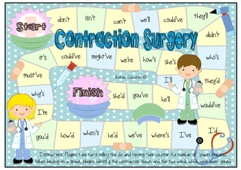 Contraction Surgery Board Game