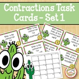 Contraction Task Cards - Cactus