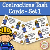 Contraction Task Cards - Construction