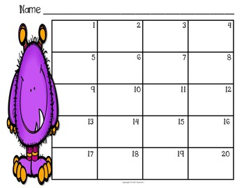 Contraction Task Cards - Set 2 - Monsters