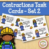 Contraction Task Cards - Set 2 - Construction