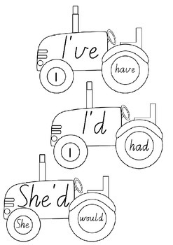 Contraction Tractors