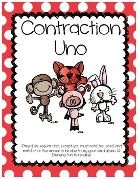 Contraction Uno Game