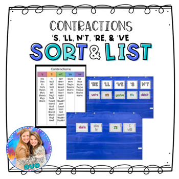 Contractions With S And N T Worksheets Teaching Resources Tpt