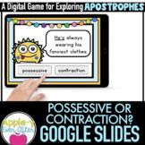 Contraction or Possessive - Apostrophe Practice Google Sli
