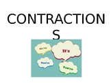 Contractions!