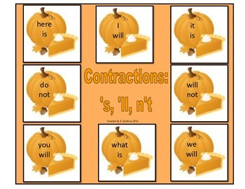 Contractions #1: File Folder