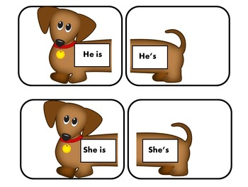 Contractions First Grade | Contractions Activities
