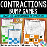 Contractions Activity: 12 Contractions Games (Bump!)